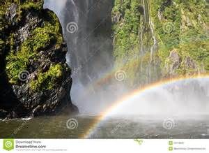 rainbow over waterfall - Bing images