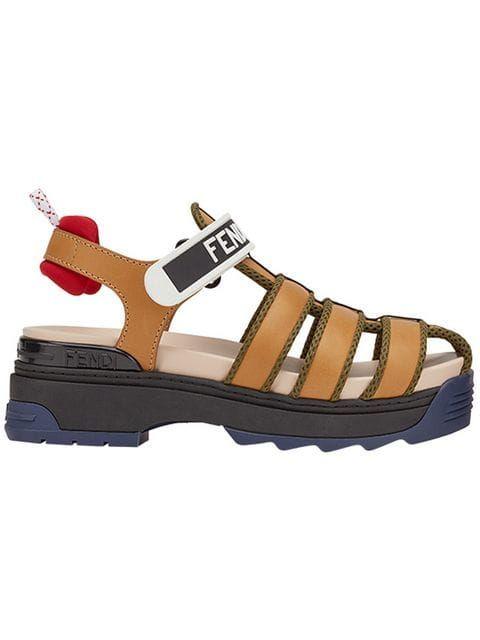 Fendi Strappy Sandals - Farfetch
