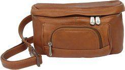 Cheap Piel Leather Carry-All Waist Bag sale