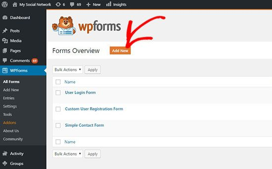 How To Create A Dropbox Upload Form In Wordpress In 2020 Name Activities Wordpress Admin Job Board