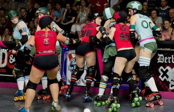 The LA Derby Dolls have partnered with St. Vincent Medial Center and the Mexican Consulate in bringing a Health & Job Fair on Aug. 17. (Courtesy of Jess Reynolds)