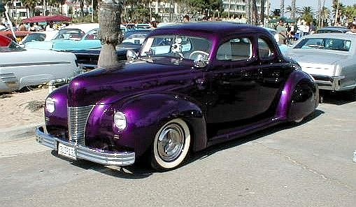Customs Volume 1 Purple Car Custom Cars Paint Motorcycle Paint Jobs