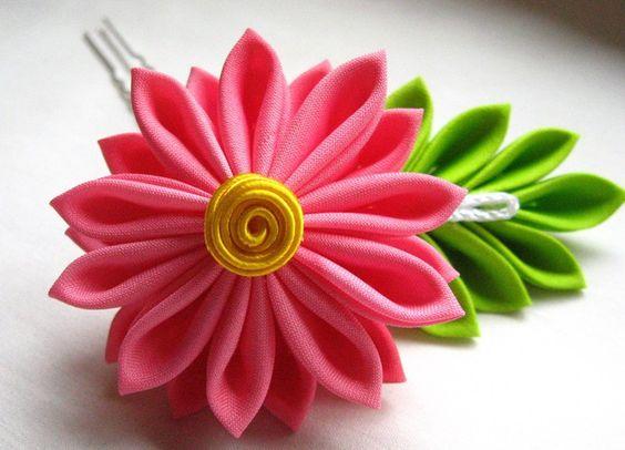 kanzashi hair pin