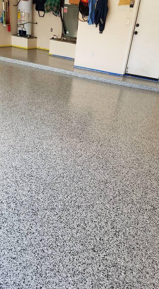 Graniflex Garage Tucson Az Concrete Decor Concrete Coatings Concrete Driveways
