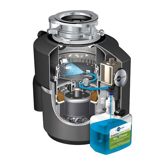The Evolution Septic Assist Garbage Disposal Is Specifically Designed For Homes With Septic Systems T Garbage Disposal Kitchen Garbage Disposal Septic System