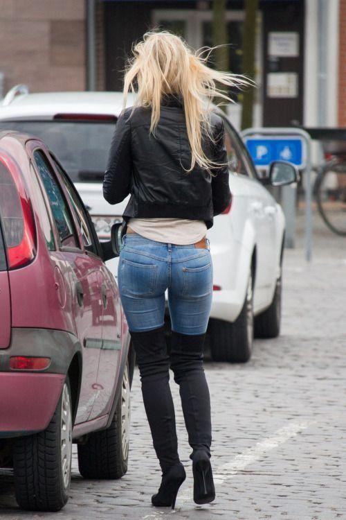 skinny jeans stiefeletten damen