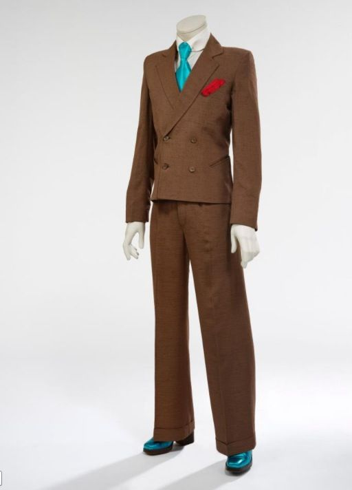 "David Bowie ""City Lights Studio"" suit from Pin Ups."