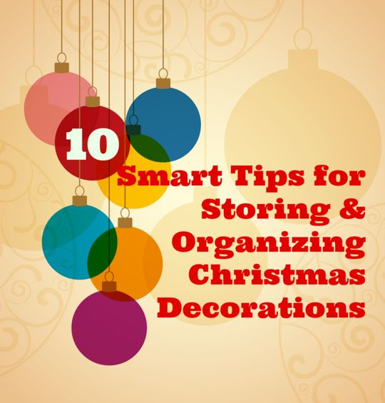 So Clever! 10 Smart Tips for Storing & Organizing Christmas Decorations | Apartment Therapy