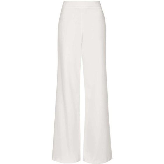 Topshop, Wide leg pants and Winter white on Pinterest