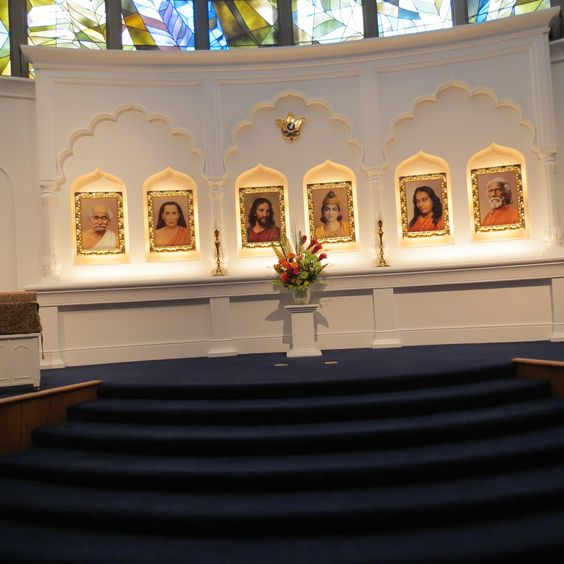 Self Realization Fellowship altar
