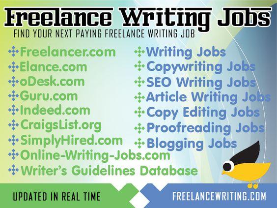 Find your next paying freelance writing job at www.FreelanceWriting.com