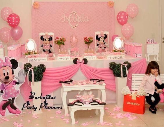 """Minnie Mouse / Birthday """"Isabella´s Minnie Birthday Party"""" 