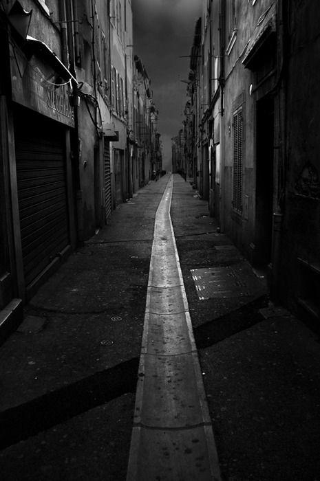 Sokak ve yol resimleri street and road pictures - Dessin sombre ...