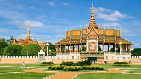 Cung điện Hoàng gia Campuchia - biểu tượng của đất nước Campuchia