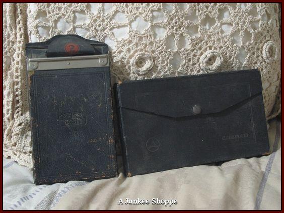 ZEISS IKON Camera Film Packs Ernemann Steel Plates  IMG 4197   http://ajunkeeshoppe.blogspot.com/