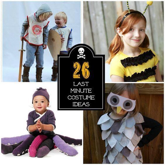 last minute halloween costume ideas kind last minute. Black Bedroom Furniture Sets. Home Design Ideas