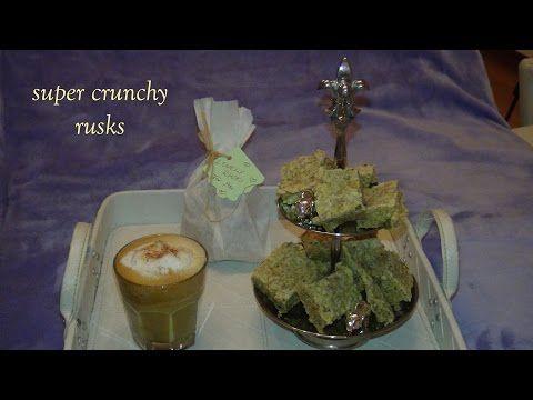 CRUNCHY SUPER RUSKS - Müsli to go - YouTube