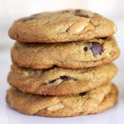 Peanut Chocolate Cinnamon Cookies