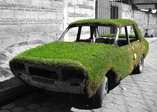 """Now that's what I call """"Going #Green"""""""