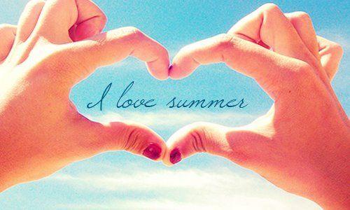 i love summer.
