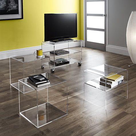 buy john lewis ice acrylic furniture online at johnlewiscom acrylic bedroom furniture