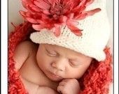 Newborn ChRiStMaS Hat & Diaper Cover SET Baby PROP CooL FaT TaSsEl Chuckles Cap Unigender Red Lime White Pick Colors Knit to Order Boy Girl. $55.00, via Etsy.
