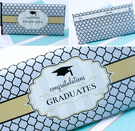 Graduation printables and gift ideas free printable for Free printable graduation candy bar wrappers templates