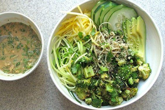 Crunchy Radish - Soba Noodle Bowl