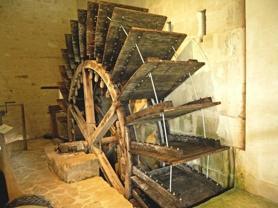 Le moulin à eau de Jonzac, source d'huile de noix !