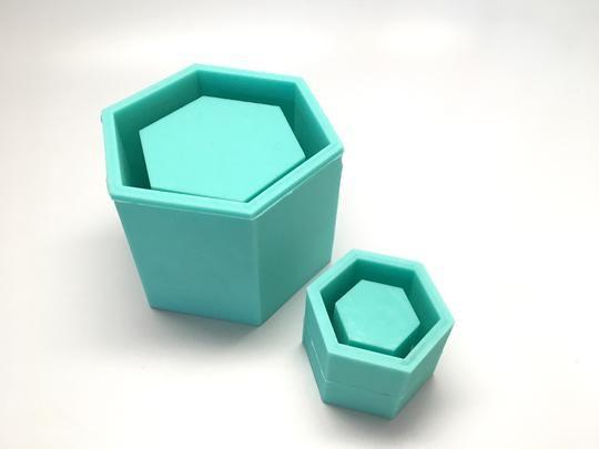 Icosahedron II Planter Mold Sacred Geometry Silicone