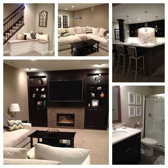 Finished Basement Ideas: Basement Ideas! Someone Took All Of My Ideas, Used Them