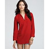 Joie Top - Marlo Savory Silk Long Sleeve