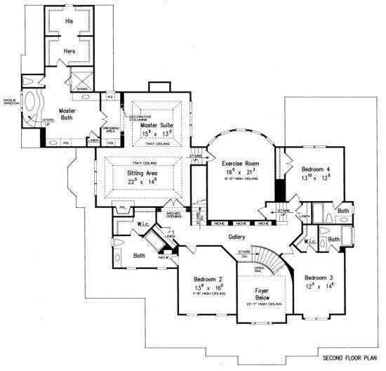 Designer dream home house plans
