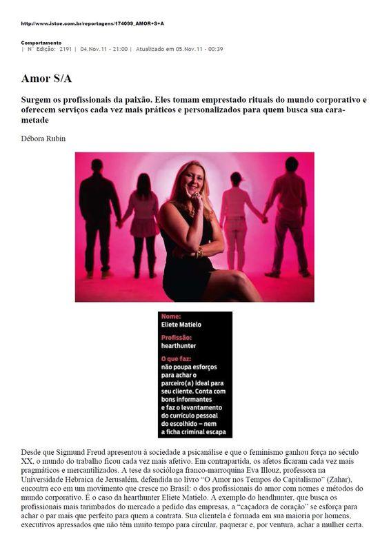 Revista Istoé - Novembro/2011