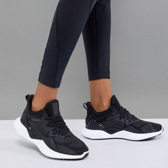 adidas Shoes | Adidas Alphabounce Beyond Black For Women | Color: Black/White | Size: 8