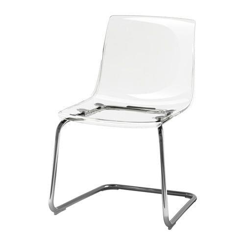 Tobias Chair Clear Chrome Plated Ikea Tobias Chair Ikea Tobias Chair Transparent Chair