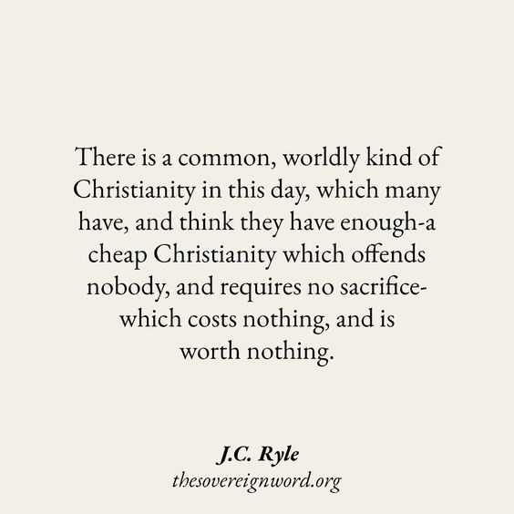 J.C. Ryle #christian #christianblogger #christianity #christianliving #grace #Godslove #Jesus #BibleVerse #christianquotes #faith #Scripture