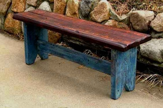 Benches Rustic - New Dining Rooms Walls