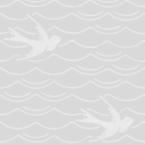Birds Upon The Sea ~ Silver Leaf
