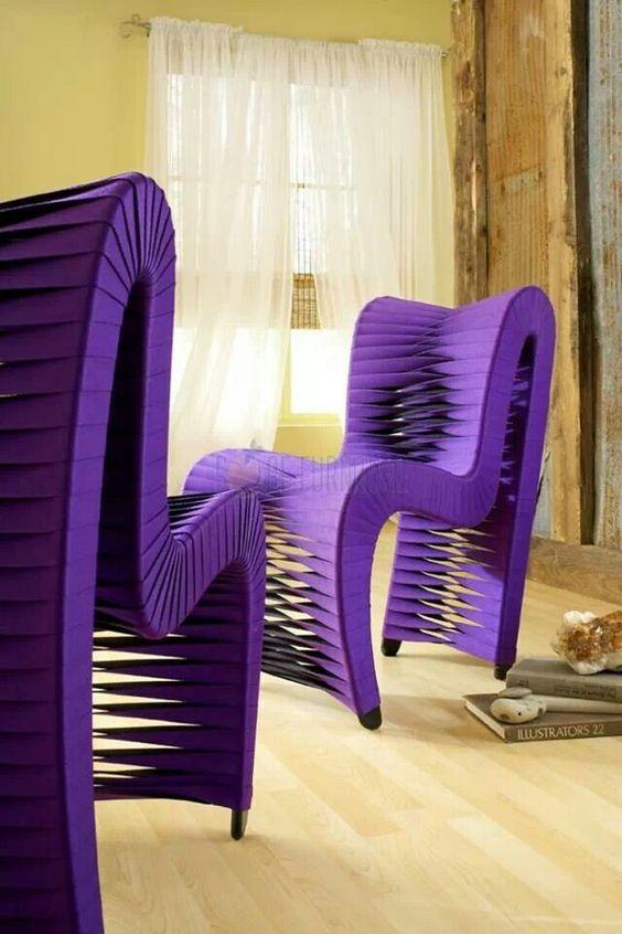 Unique Purple Chairs. Purple Sofa, Purple Furniture