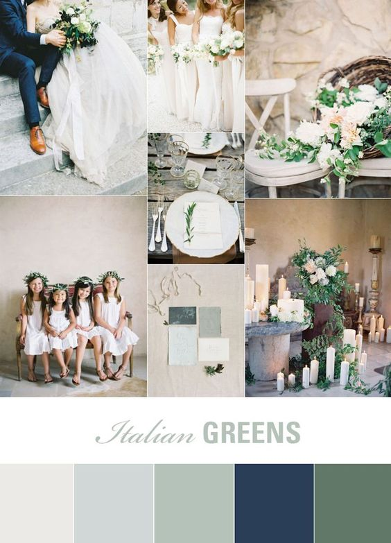 Italian Evenings | Olive Green Wedding Inspiration | Fly Away Bride