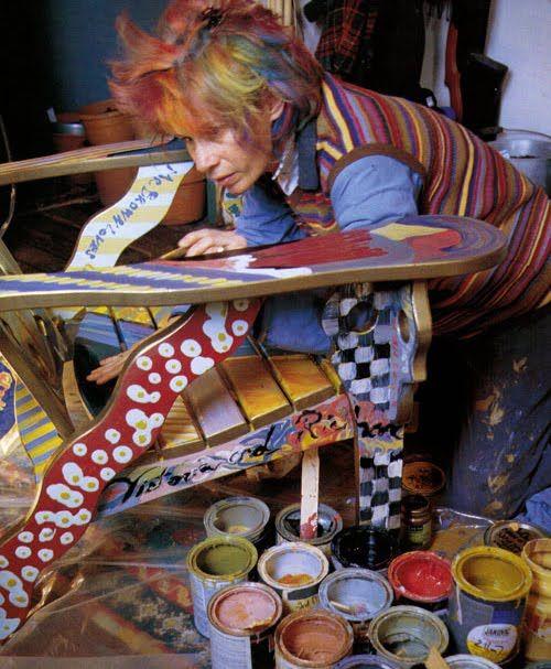 Majolica Putty Frame   8 | Artist Victoria MacKenzie Childs | Pinterest