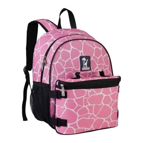 You no longer need to carry your lunch box and backpack separately! Our backpack includes a detachable, insulated lunchbox of the same pattern as the backpack. The lunch bag attaches with four reinforced hook n loop straps. The backpack