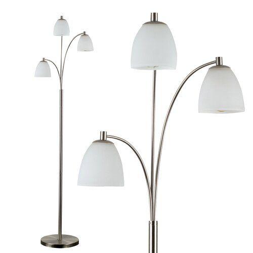 Levesque 150cm Floor Lamp Marlow Home Co Bulb No Bulb Floor