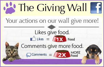 The Animal Rescue Site -just click the purple button once daily to give free food for animals-