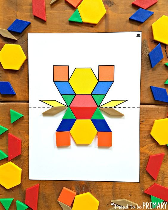 Geometry And Shapes For Kids Activities That Captivate Symmetry