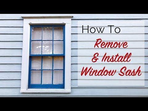 If You Re Windows Won T Stay Up Anymore Due To Missing Broken Ropes I Can Show You In Just A Few Minutes How To Repl Sash Windows Sash Cord Double Hung Windows