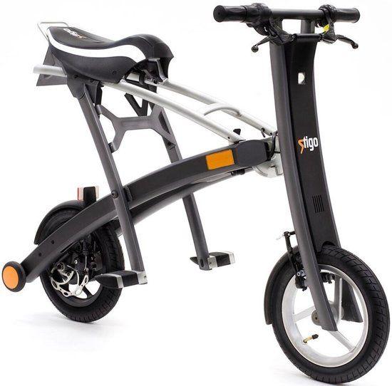 De Stigo Bike Is De Snelst Opvouwbare Elektrische E Scooter Ter Wereld 2 Seconden Deze E Scooter Heeft Een Actieradius Van Maar Liefst 30 Step Scooter Fiets