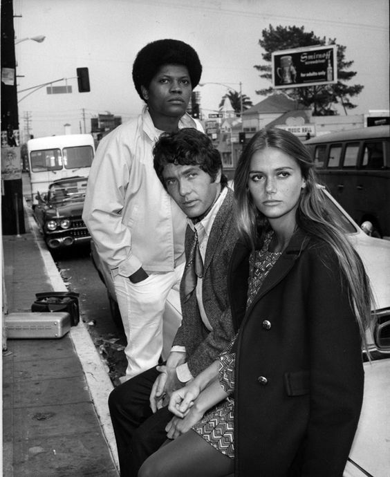 The Mod Squad: Michael Cole, Clarence Williams III and Peggy Lipton