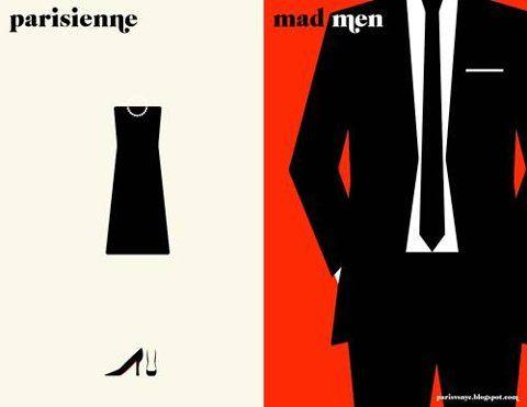Madmen meets Parisienne